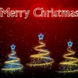 Christmas Trees Background - Merry Christmas 47 (HD) - Stock Photo