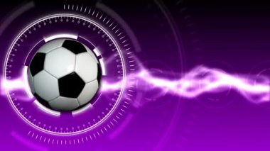Soccer Ball Sport Background 05 (HD) — Stock Video
