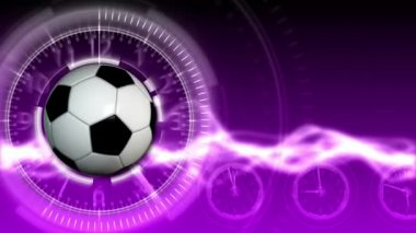 Soccer Ball Sport Background 17 (HD) — Stock Video
