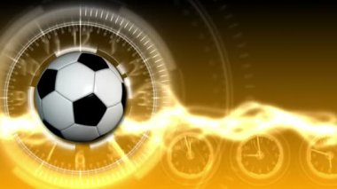 Soccer Ball Sport Background 18 (HD) — Stock Video