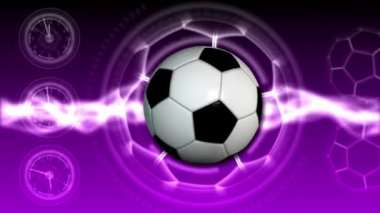 Soccer Ball Sport Background 23 (HD) — Stock Video