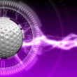 Golf Ball Background 13 (HD) — Stock Video