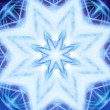 Royalty-Free Stock Vektorov obrzek: Cool Snowflake Ornament - Abstract Background 80 (HD)