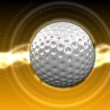 Golf Ball Background 26 (HD) - Stock Photo