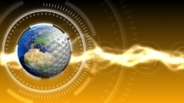 Golf Earth Background 34 (HD) — Stock Video