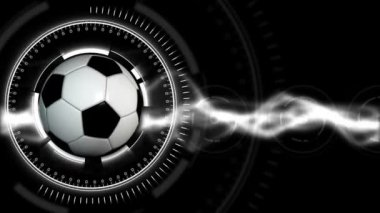 Soccer Ball Sport Background 26 (HD) — Stock Video