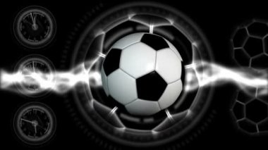 Soccer Ball Sport Background 29 (HD) — Stock Video