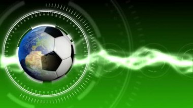 Soccer World Background 30 (HD) — Vídeo de Stock
