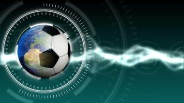 Soccer World Background 31 (HD) — 图库视频影像