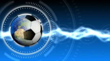 Soccer World Background 32 (HD) — Vídeo de Stock