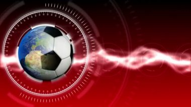 Soccer World Background 33 (HD) — Vídeo de Stock