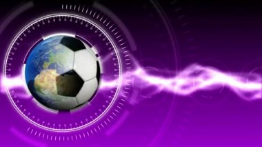 Soccer World Background 34 (HD) — Stock Video