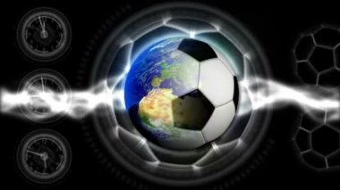 Soccer World Background 36 (HD) — 图库视频影像
