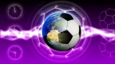 Soccer World Background 41 (HD) — 图库视频影像