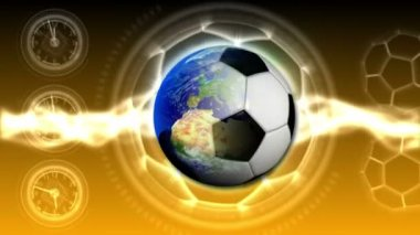 Soccer World Background 42 (HD) — Vidéo