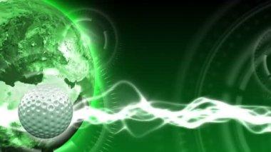 Golf World Background 37 (HD) — Stock Video