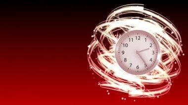 Time Flies - Clock 66 (HD) — Stock Video