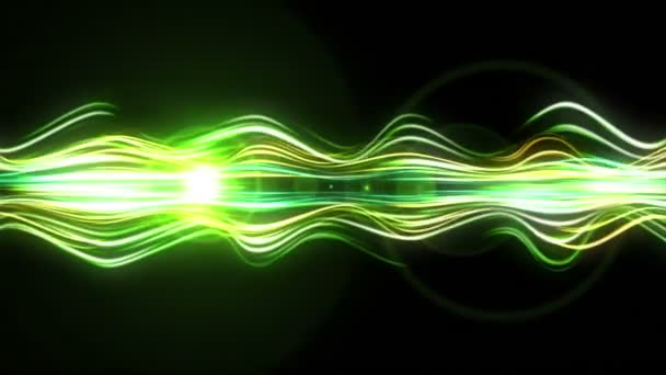 Light Streaks Background - Fractal Background 01 (HD) — Vidéo