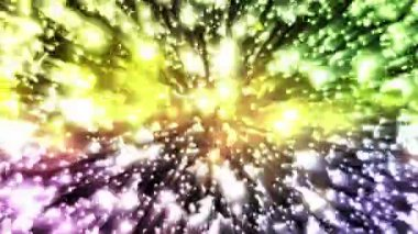 Multicolored Sparkles - Motion Background 94 (HD) — Stock Video
