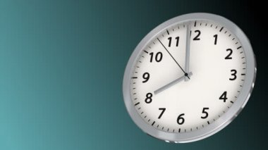 10 seconds to 8 - Clock 41 (HD) — Stock Video