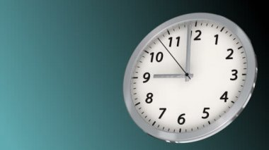 10 seconds to 9 - Clock 40 (HD) — Stock Video