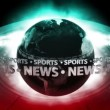 SPORTS NEWS Earth - Earth 68 (HD) — Stock Video