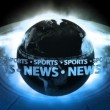 SPORTS NEWS Earth - Earth 71 (HD) — Stock Video