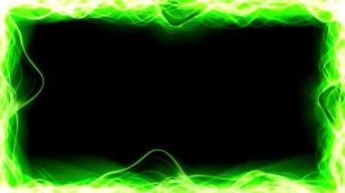 Light Streaks Border — Stock Video #23625189