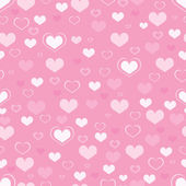 Hearts seamless background — Stock Photo