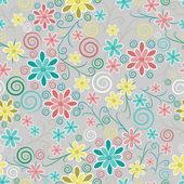 Kwiatowy kwiecisty tekstura — Wektor stockowy