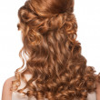 Woman with beautiful hairstyle - Stockfoto