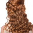 Woman with beautiful hairstyle - Stock Photo