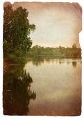 Lac de la forêt verte — Photo