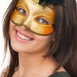 Woman in mask — Stock Photo #14952519