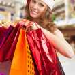 Royalty-Free Stock Photo: Christmas woman shopping