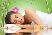 Entspannende spa — Stockfoto