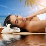 Spa woman getting spa treatment — Stock Photo #15541223