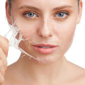 Rejuvenation of skin — Stock Photo