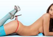 Sexy female body — Stock Photo