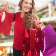 Woman with shopping bags — Stock Photo #15639655