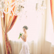 Beautiful bride indoors — Stock Photo #15641885