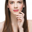 Beautiful woman with healthy skin — Stock Photo