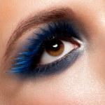 Woman eye with makeup — Stock Photo #18448597