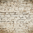 White Brick Wall  — Stock Photo