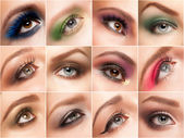 Eye make-up — Stock Photo