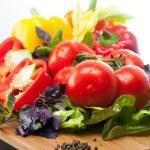 Variety fresh vegetables — Stock Photo #46689951
