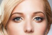 Stylish eye makeup — Stock Photo