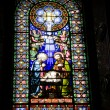 Stained glass windows in monastery3 — Stock Photo #14709761