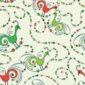 Birds_pattern — Stock Vector