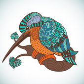 Kingfisher — Stock Vector